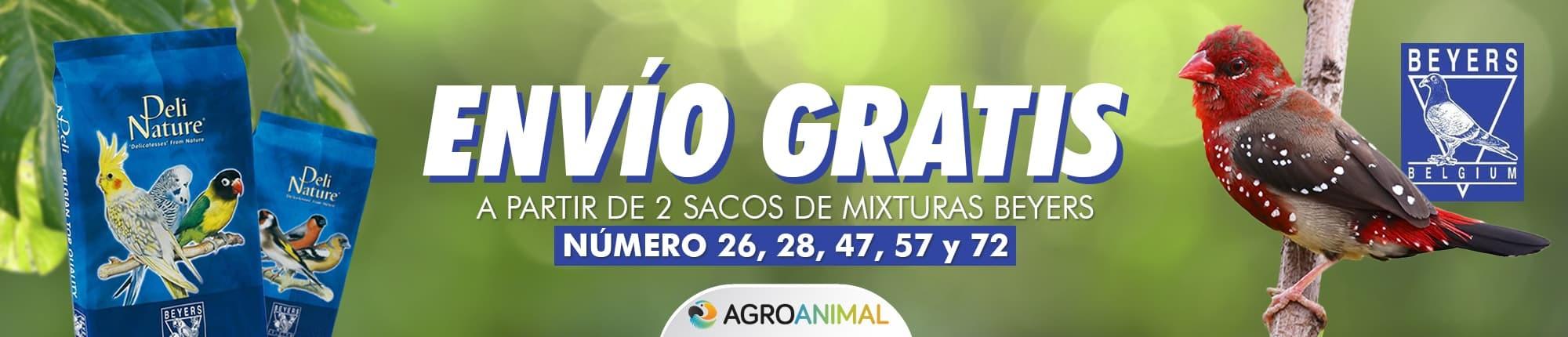 Envío gratis semillas y mixturas Beyers